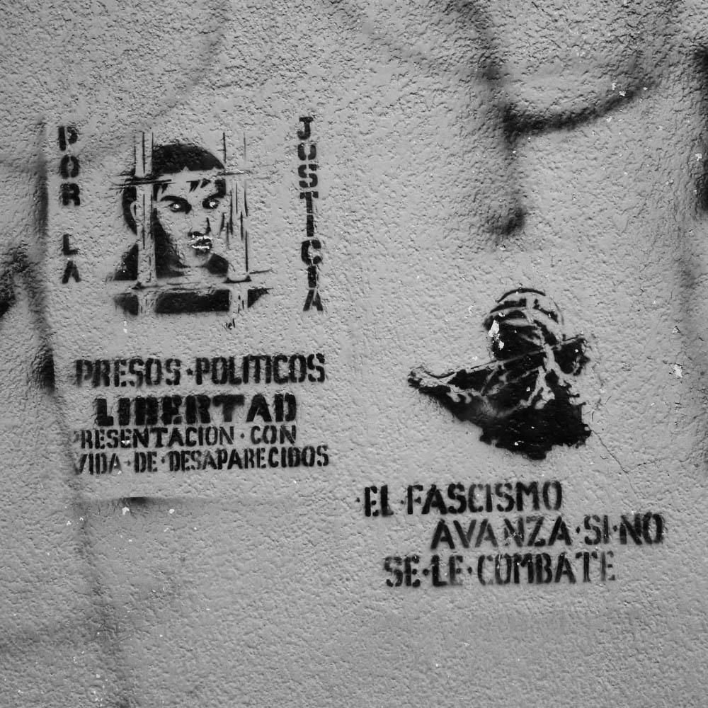 street art a photo essay from ciapannaphoto political stencils san cristobal de las casas chiapas