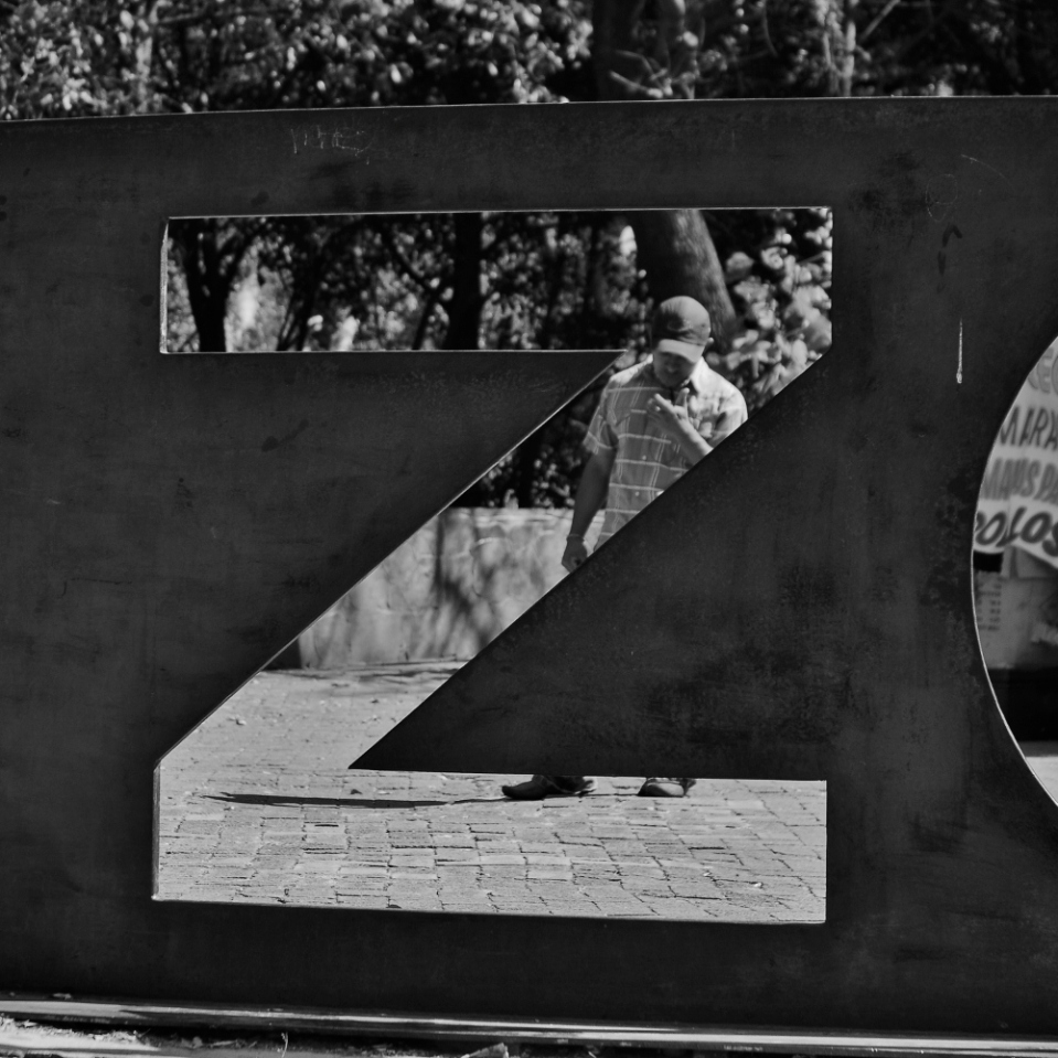 "Z is for zoo. The last few are people pictures taken at the ""zoologico"" in Chapultepec park."