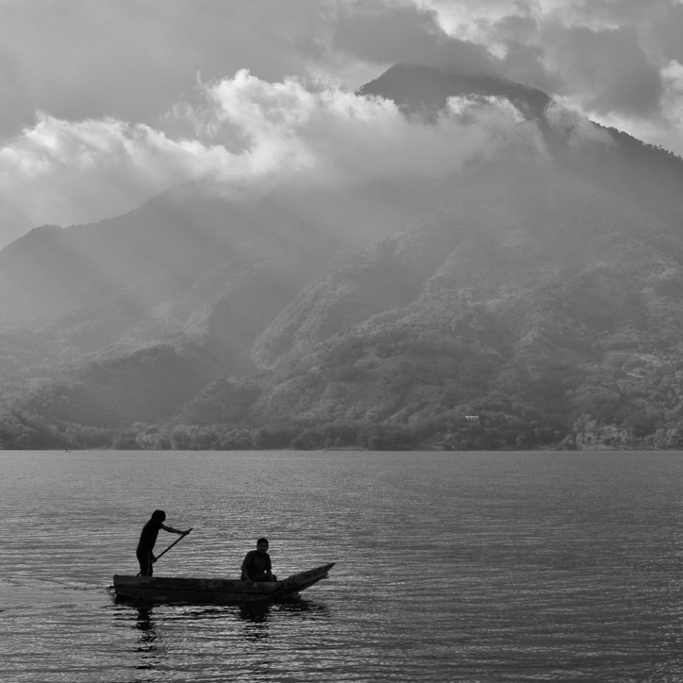 Active canoe, dormant volcano.