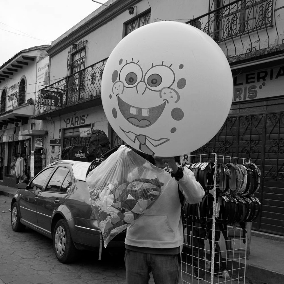 I swear: that's the last time i have helium for breakfast. San Cristobal de las Casas.