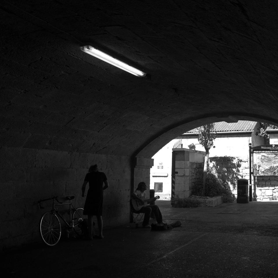 Tunnel vision soundtrack. Gibraltar.