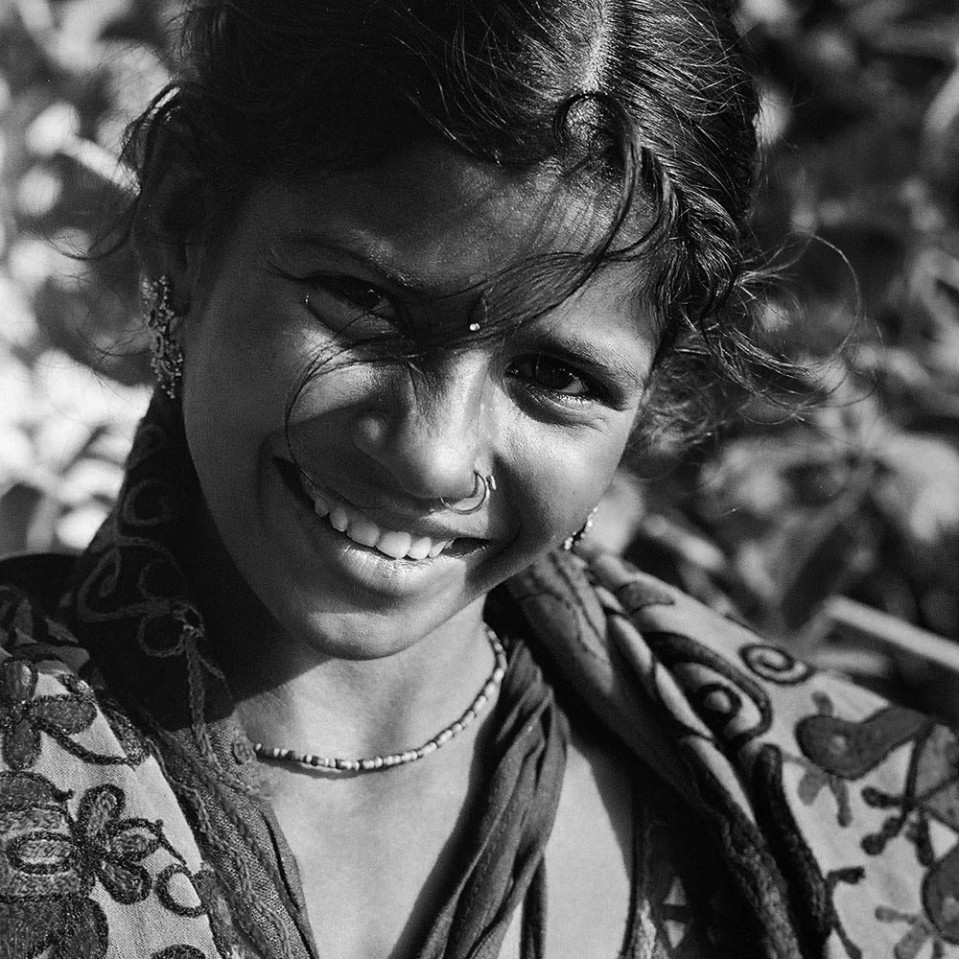 This young lady at Vaqrkala tried long and hard to sell me some woven souvenirs. The smile was part of the deal.