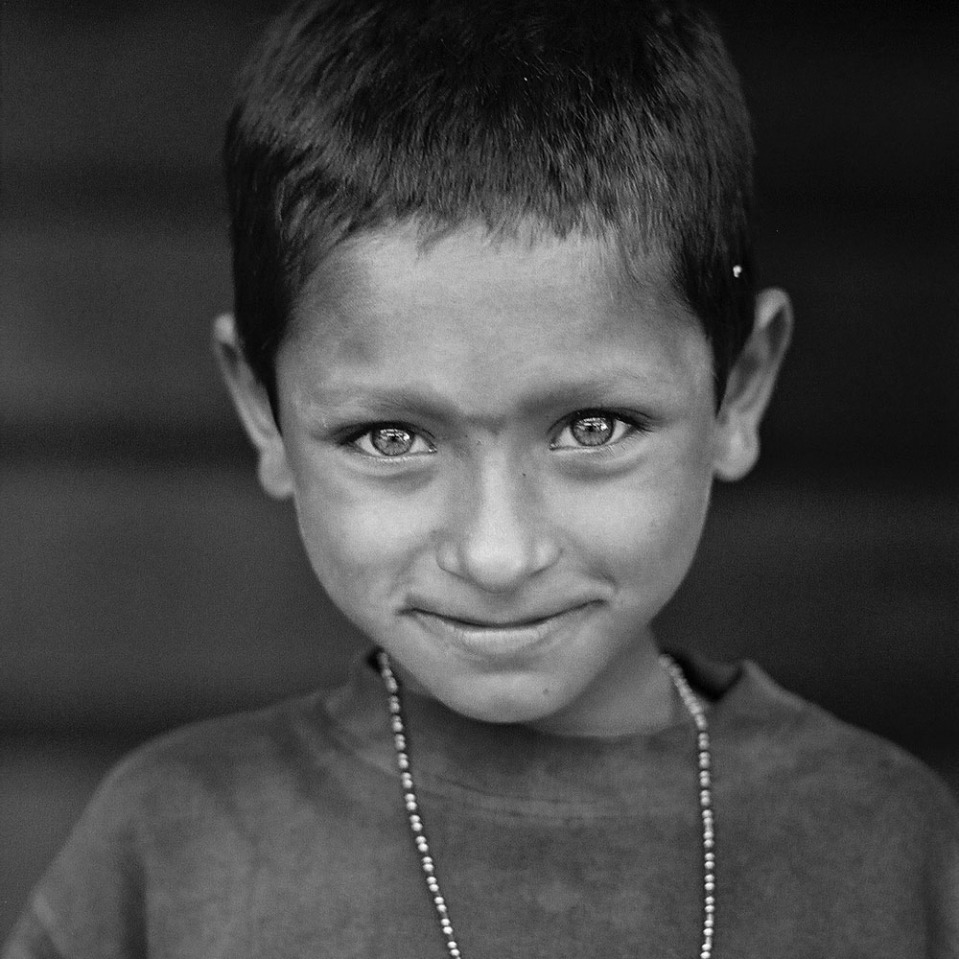 No photoshop: the eyes on this child in Palolem were simply dazzling.