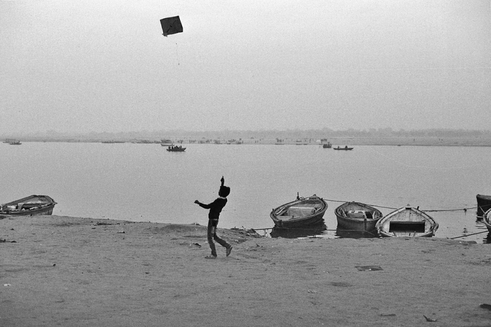 Kite flying is elevated to somewhere between art form and national sport, in the skies of Varanasi.
