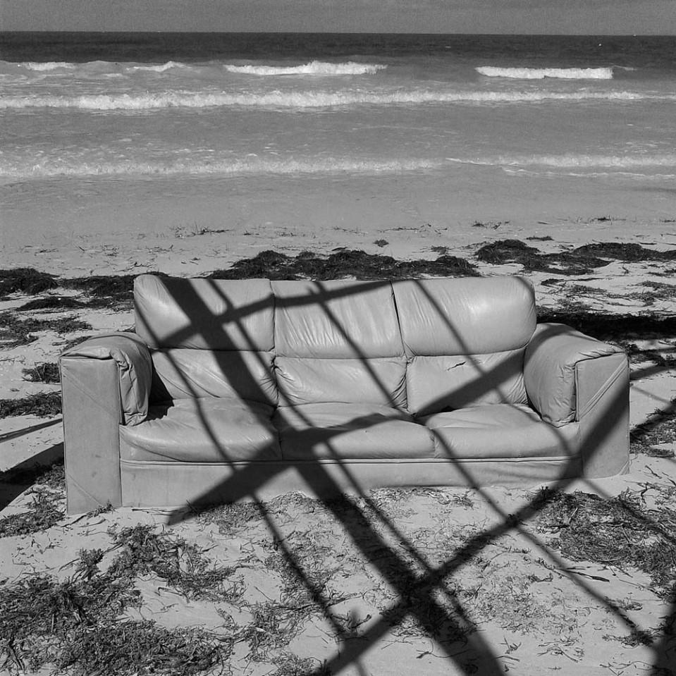 Beach chair, a la Mexicana...